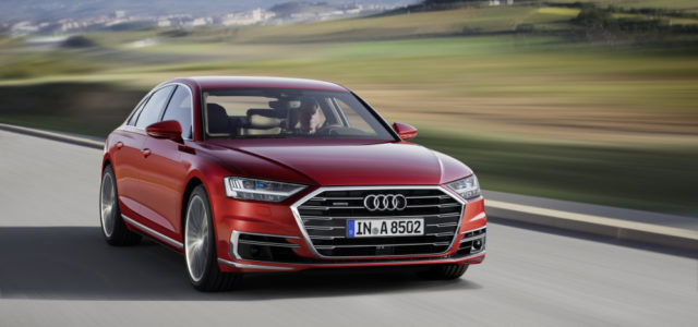 New Audi A8: Future of the luxury class