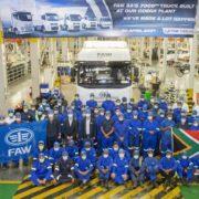 7,000th unit assembled at FAW's Coega plant
