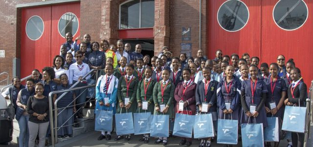 Girls get glimpse of maritime careers