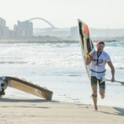 McGregor takes 2nd place in gripping Durban downwind