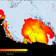 2015-16 El Niño drives Antarctica large-scale surface melting