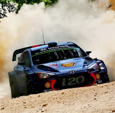 Hyundai aims to set the pace in weekend's Rally Poland