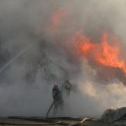 Veld fire suspected in Bridgestone Benoni blaze