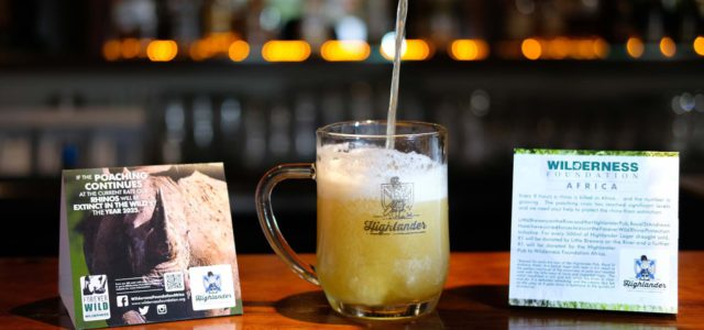 Port Alfred brewery, hotel teams up for rhino conservation