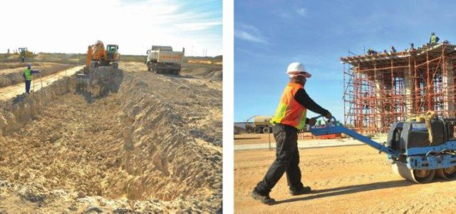 Two multi-million rand projects get underway at Coega