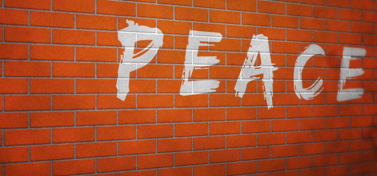 Believe it.  World is more peaceful