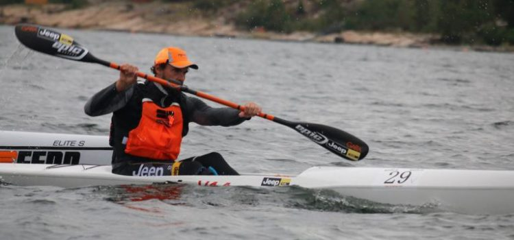 Lewin takes gold at Norway National Surfski champs