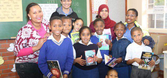 JB's wind farm to help improve literacy