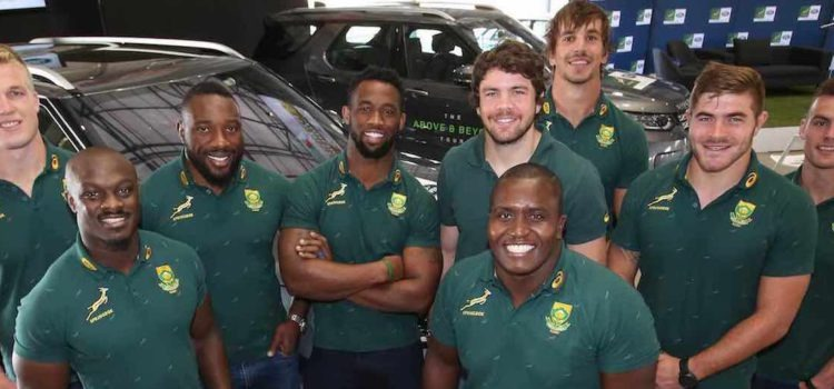 Land Rover now official partner to Springboks