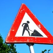 Roadworks on R75 between PE-Despatch