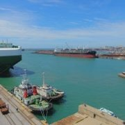 Port Elizabeth welcomes modern vessel on maiden voyage