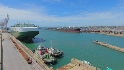 Port Elizabeth welcomes modern vessel on maiden voyage