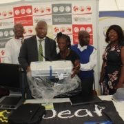 MEC Mabuyane delivers braille printer to a Dimbaza center