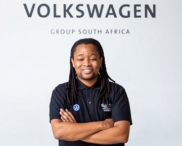 Nala Mofokeng honoured as Best Trainee in Volkswagen Group