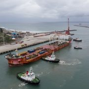 Port of East London celebrates the docking of longest vessel in port history