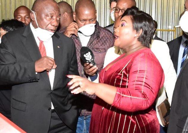 Ramaphosa visits Fort Jackson SMME