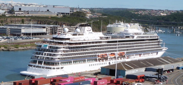 New cruise liner visits East London port