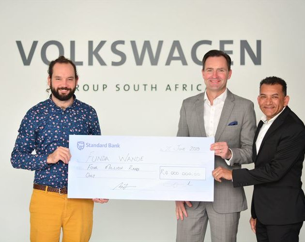 VW opens 3 literacy centres in PE