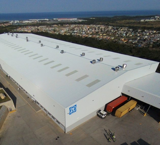 ZF starts production in East London