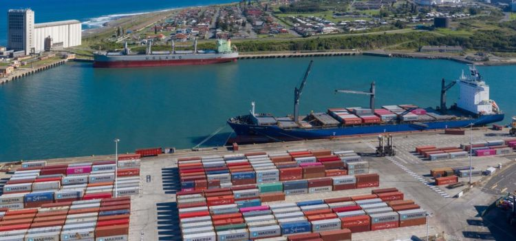 East London port conduit for essential commodities