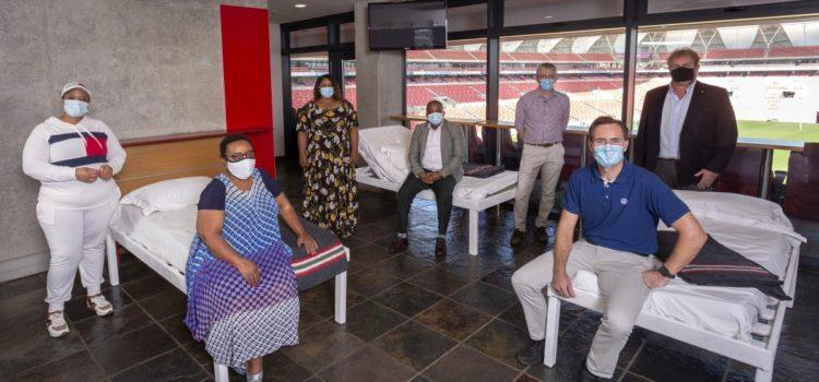 VWSA donates beds to NMB stadium's Covid-19 facility
