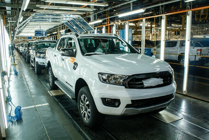 Ford begins phased production today