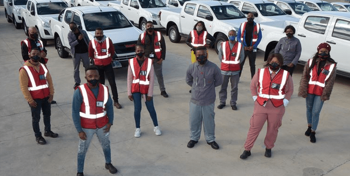 72 youths get experience at Isuzu