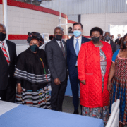 VWSA hands over Covid-19 medical facility