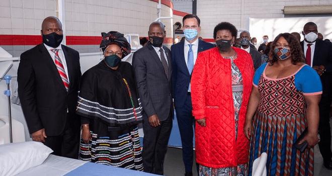 VWSA hands over Covid-19 medical facility
